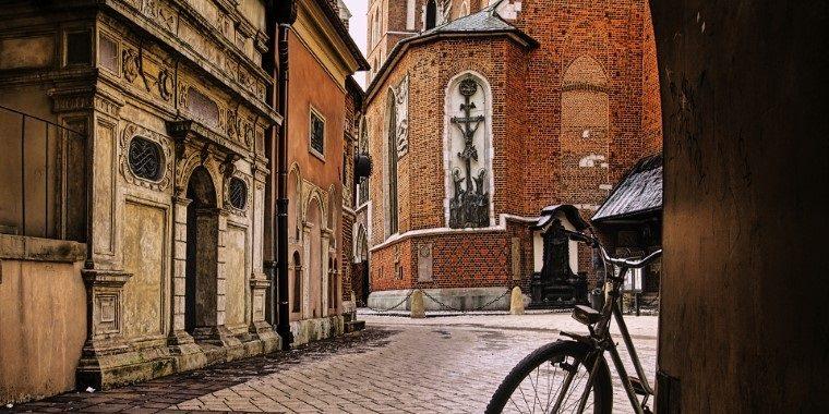 co za darmo w Krakowie uliczki miasta